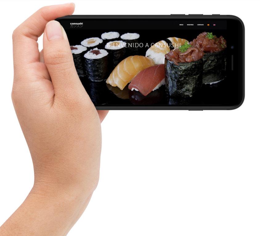 Diseño web «Restaurante Cansushi»