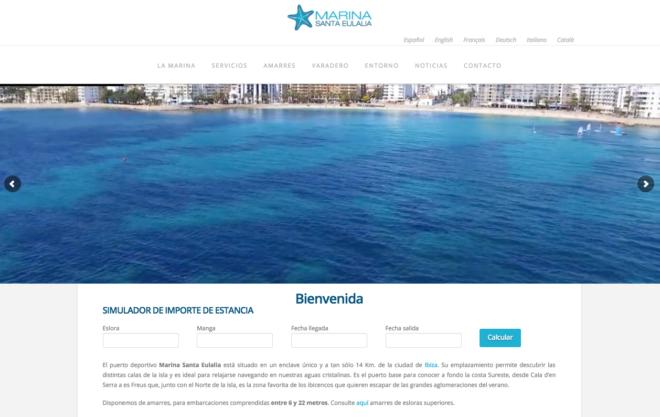 Marina de Santa Eulalia Ibiza